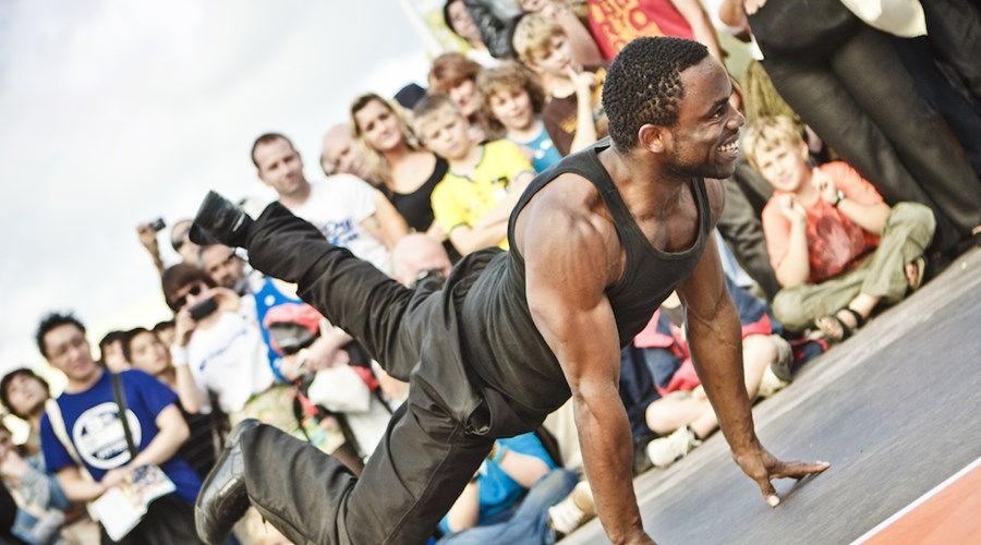 ProDance Artists Perform at Ferrari World